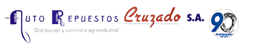 Logo Autorepuestos Cruzado 90 aniversario